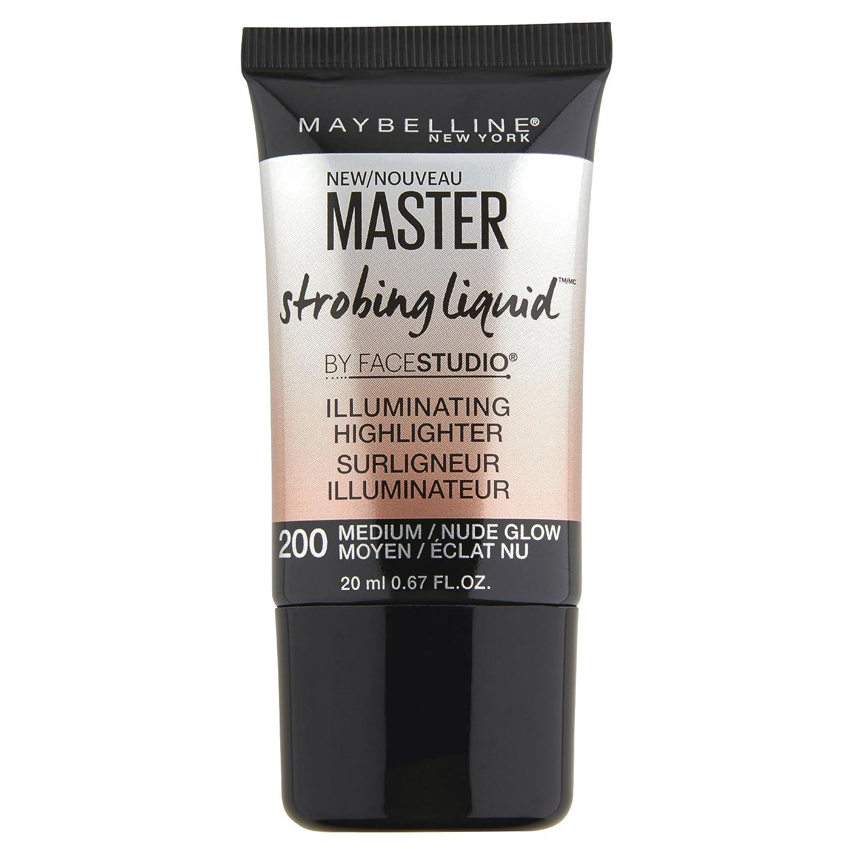 Maybelline New York Facestudio Master Strobing Liquid Illuminating Highlighter, Light Iridescent, 0.67 Fluid Ounce K2250400