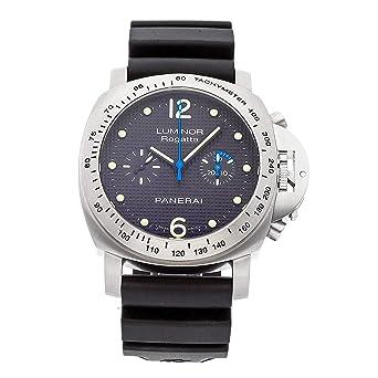 Panerai Luminor Mechanical (Hand-Winding) Black Dial Mens Watch PAM 308 (Certified