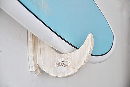 Estantes de tabla de surf - Estante de pared de madera para su tabla ...