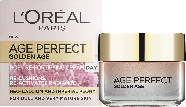 Crema antiedad de día LOreal Paris Age Perfect Golden Age, 50 ml ...