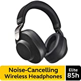 Jabra Elite 85h Wireless Noise-Canceling Headphones, Titanium Black – Over Ear Bluetooth Headphones Compatible with…