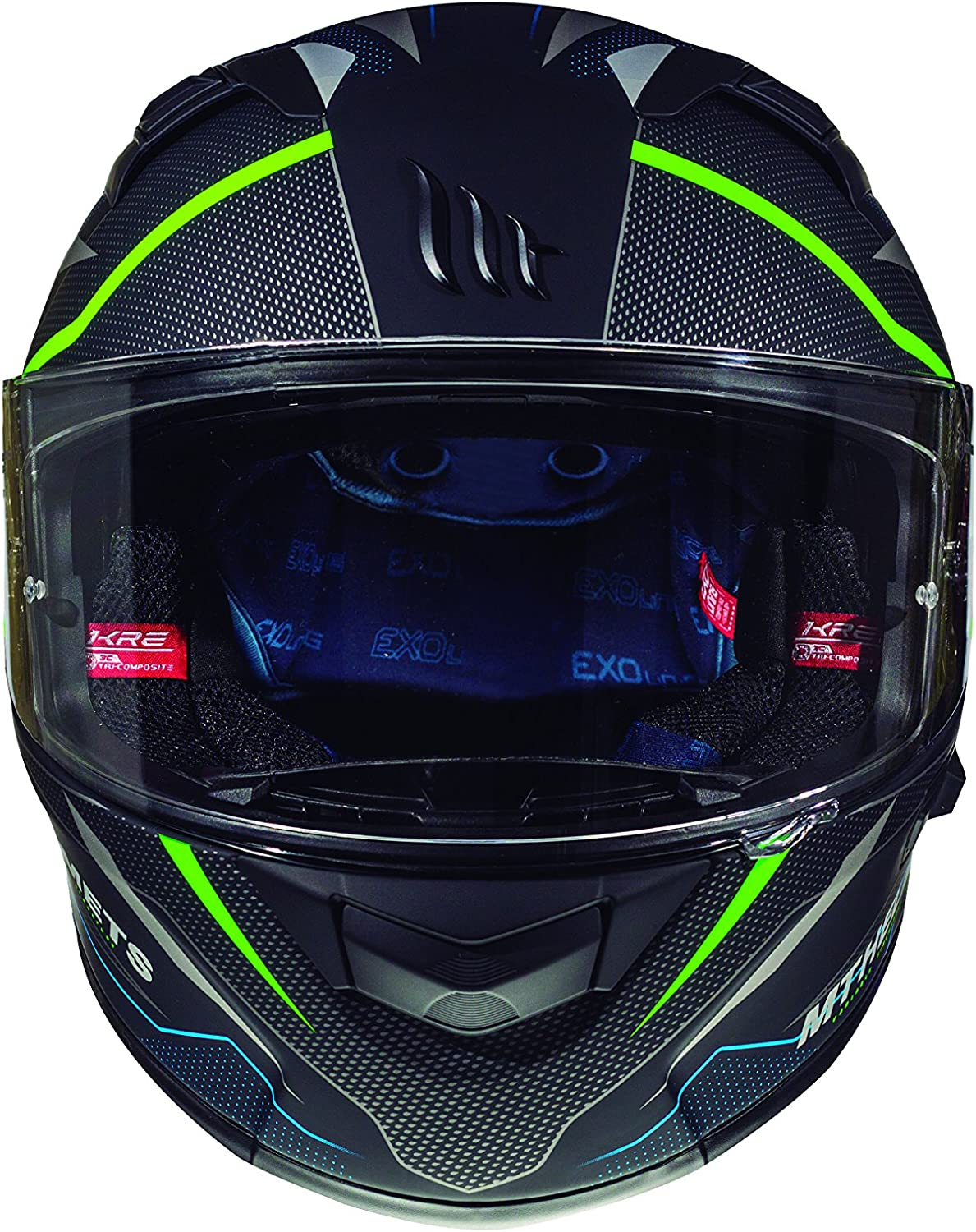Casco Mt Helmeth KRE SV INTREPID C1 Mate Verde XXL
