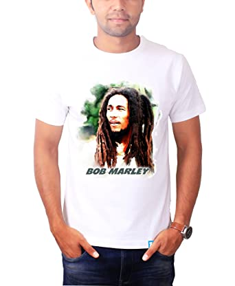 5ccfce595a31 The Banyan Tee Bob Marley T Shirt - Bob Marley Accessories by:  Amazon.co.uk: Clothing