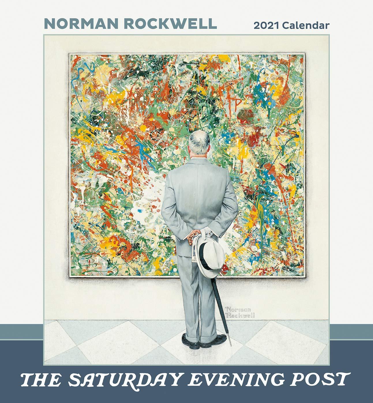Calendrier Tempo 2022 Norman Rockwell: The Saturday Evening Post 2021 Wall Calendar