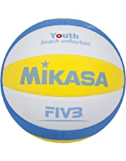 Mikasa Ball Sbv Youth Beachvolleyball, Blau/Weiß/Gelb, 5, 1629