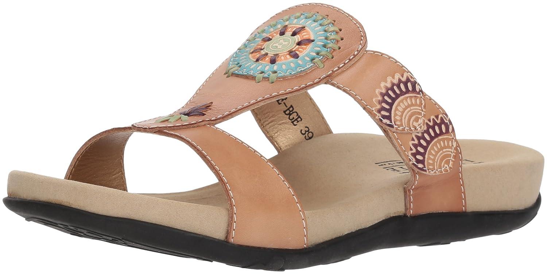 L'Artiste by Spring Step Women's Myrtle Sandals B079NRTSHM 40 M EU|Beige