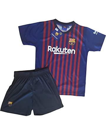 Conjunto Camiseta y Pantalon 1ª Equipación 2018-2019 FC. Barcelona -  Réplica Oficial Licenciado 8d19333dcd9d7