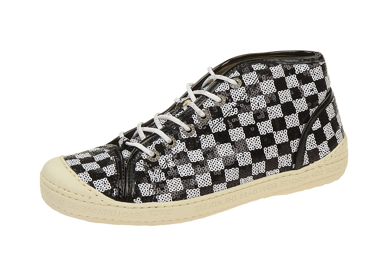 Eject16223/2.003 Black-white - zapatos con cordones Mujer 42 EU negro