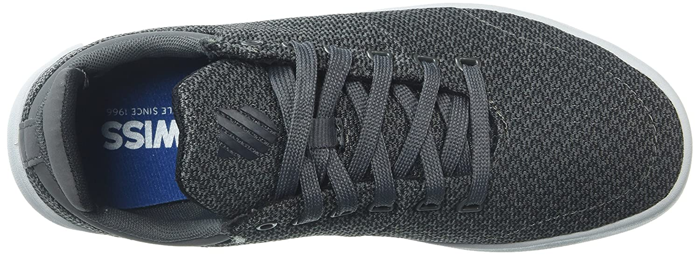 K-Swiss Women's Aero Trainer T Sneaker B0716ZXGVD 7 B(M) US|Gunmetal/Black