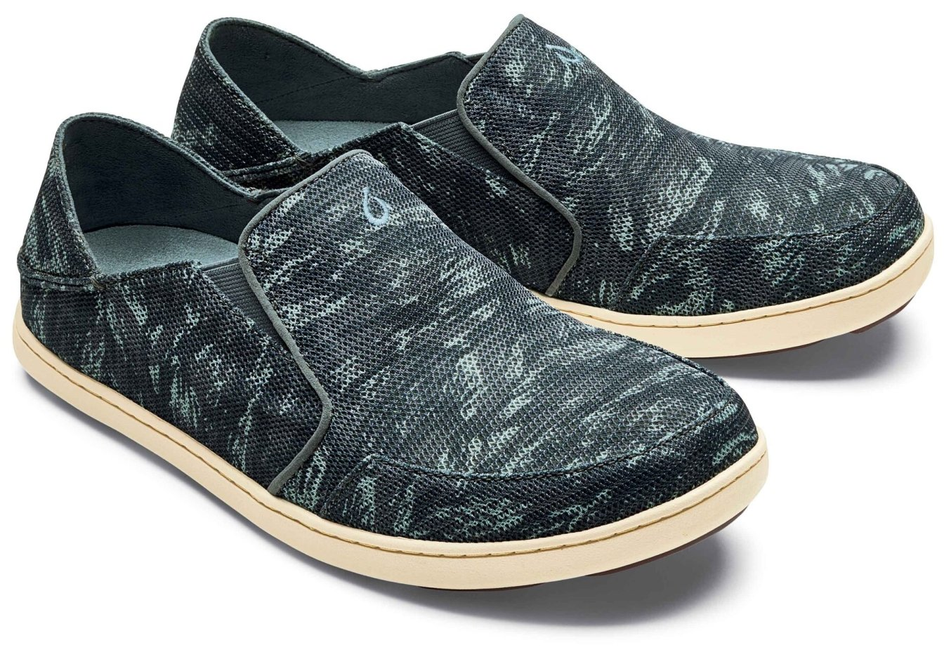 OLUKAI Nohea Mesh Shoe - Men's B073C4D49M 7 D(M) US|Charcoal/Dive Camo
