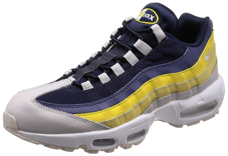 NIKE Air Max 95 Essential, Chaussures de Gymnastique Homme Homme Homme 39 EU|Gris (White/Vast Grey/Lemon Wash/Tour Yellow 107) 599c5b