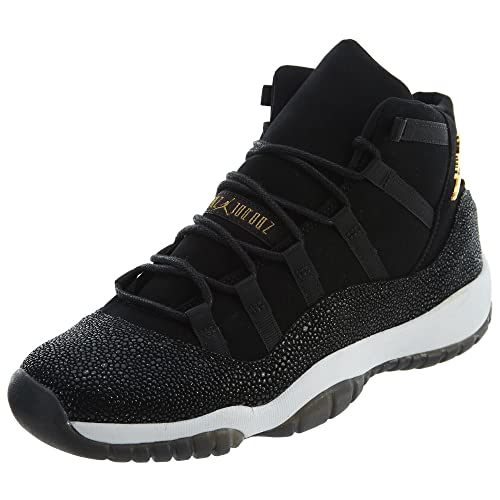 best authentic 2d41c cd355 Zapatos de Mujer NIKE Air Jordan 11 Retro Prem HC en Cuero Negro  852625-030  Amazon.es  Zapatos y complementos