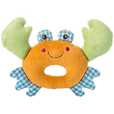 Mary Meyer Baby Buccaneer Rattle, Crab, 5-Inches : Baby
