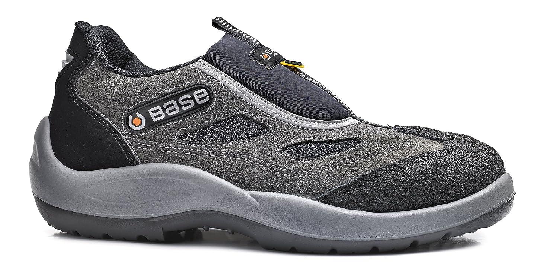 Base protection scarpe antinfortunistiche senza lacci in pelle