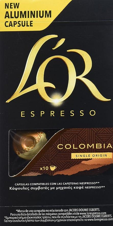 LOr Café Espresso Colombia - 10 Cápsulas