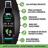 All Natural Shoe Deodorizer and Foot Deodorant
