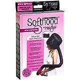 Hair Flair Deluxe Softhood Bonnet Hair Dryer Attachment - Black