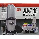 Amazing Bullet 21 in 1 Mixer Blender Juicer 21 Pieces Kitchen Food Processor