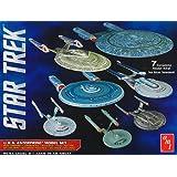 AMT 0954 1/2500 Star Trek USS Enterprise Box Set Snap