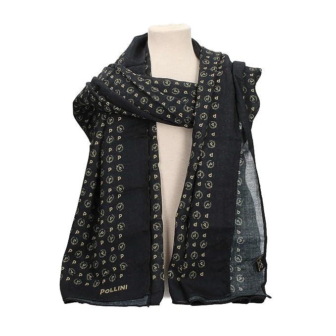3305df0771 POLLINI TE7901PP04 FOULARD Donna NERO TU: Amazon.it: Abbigliamento
