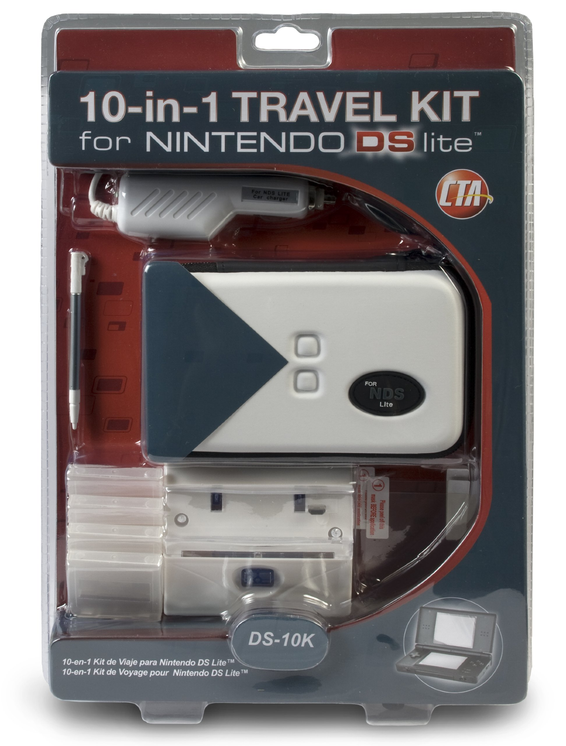 DS Lite 10-in-1 Travel Kit