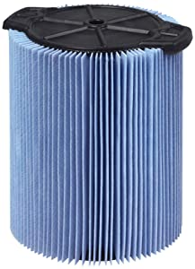 WORKSHOP Wet Dry Vac Filters WS22200F2 Fine Dust Wet Dry Vacuum Filters (2-Pack - Shop Vacuum Cleaner Filters) For WORKSHOP 5-Gallon to 16-Gallon Shop Vacuum Cleaners