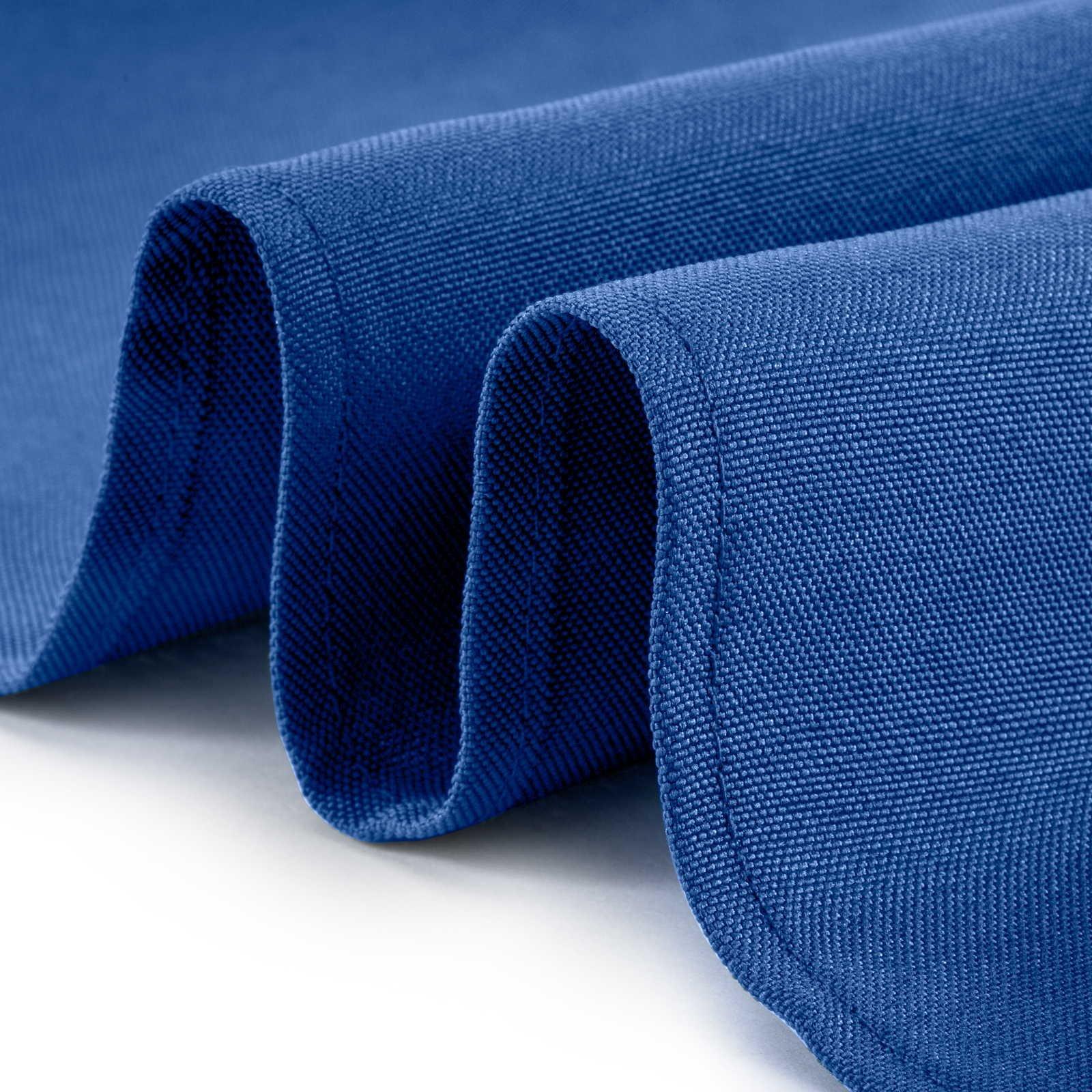 Lann's Linens - 1 Dozen 17'' Cloth Dinner Table Napkins - Machine Washable Restaurant/Wedding/Hotel Quality Polyester Fabric - Royal Blue by Lann's Linens (Image #2)