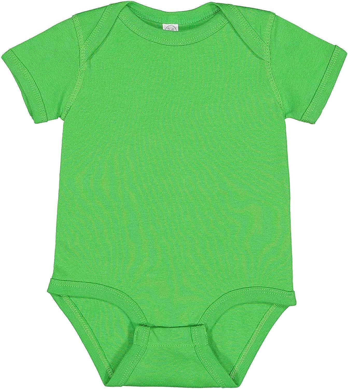 Rabbit Skins Baby Soft Short-Sleeve Bodysuit (4400)