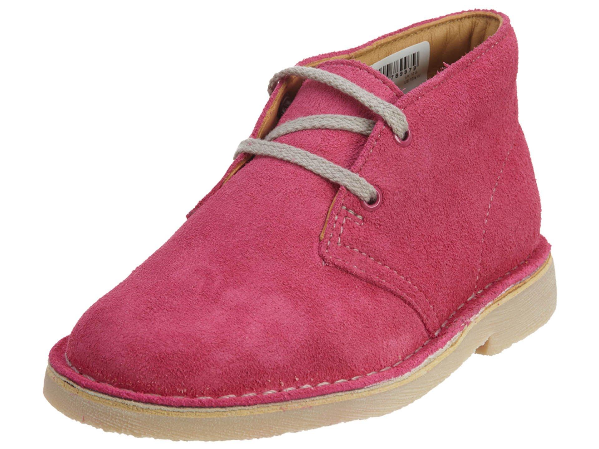 Clarks Originals Kids Pink Desert Boot Toddler 11.0 Wide US Toddler