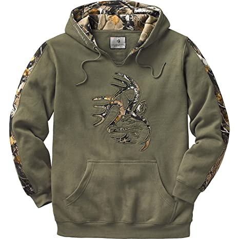 Amazon.com  Legendary Whitetails Men s Camo Outfitter Hoodie  Sports ... a5567717781