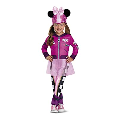 Disney Minnie Mouse Roadster Racer Toddler Girls' Costume: Toys & Games