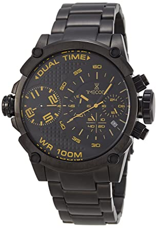 Timecode Albert 1905 TC-1003-05 Black Stainless steel 50mm Men s Watch  BLACK dial beeaac45b14