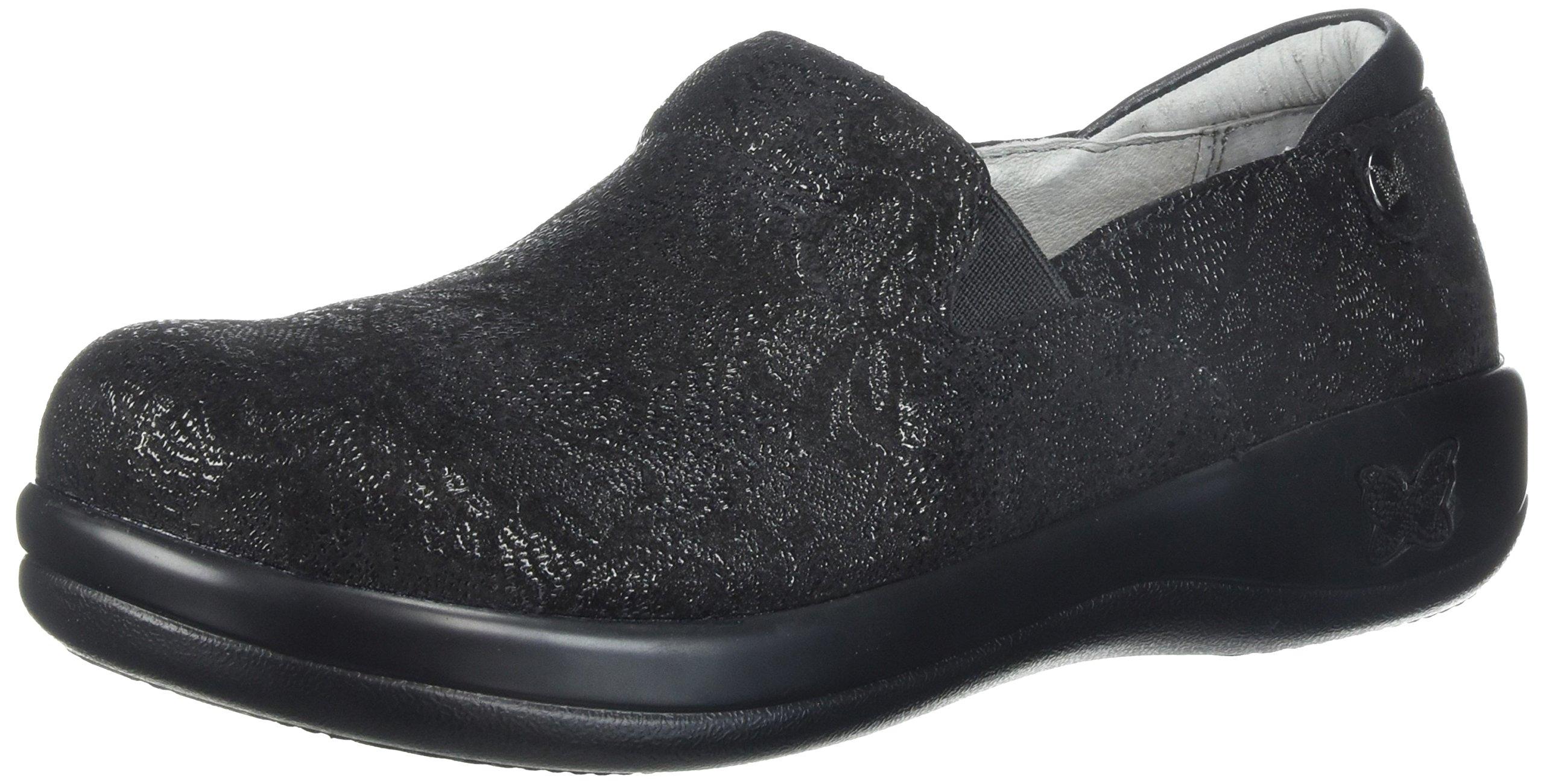 Alegria Women's Keli Loafer, Black Leaf, 40 Medium EU (9.5-10 US)