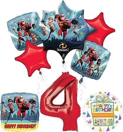 """Balloon Decor Birthday party 35/"""" Disney Incredibles 2 Foil Balloon"""