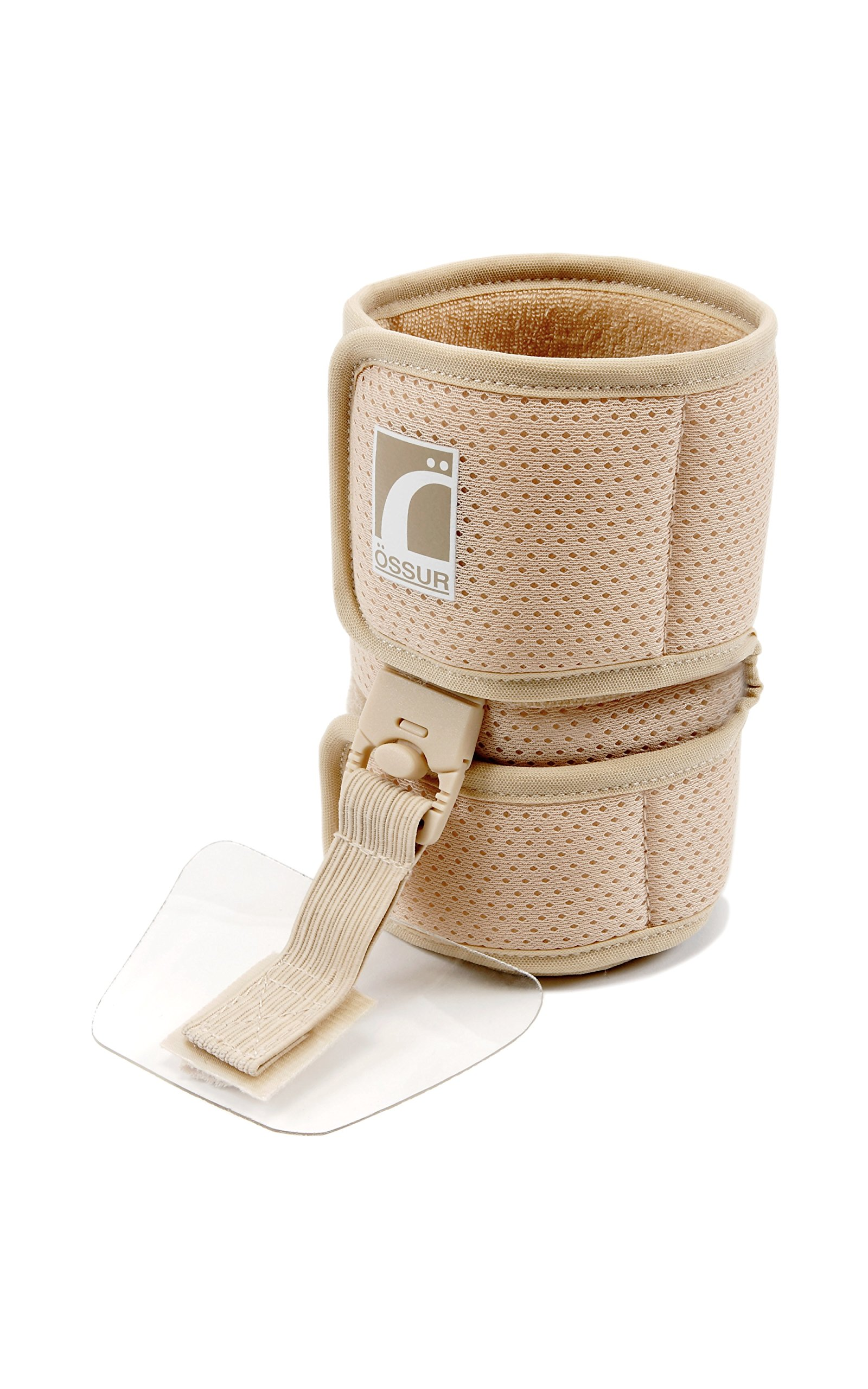 Ossur Foot-Up Drop Foot Brace - Orthosis Ankle Brace Support Comfort Cushioned Adjustable Wrap (Medium, Beige) by Ossur