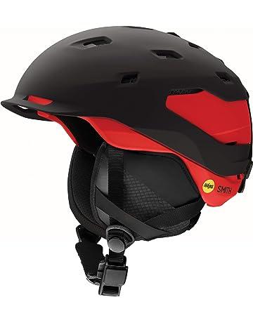peaked ski helmets