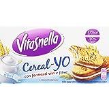 VitaSnella - Biscotti, ai cereali, con fermenti vivi e fibre - 253 g  5 monoporzioni