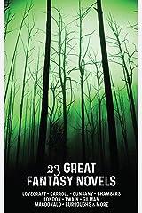 23 Great Fantasy Novels Kindle Edition