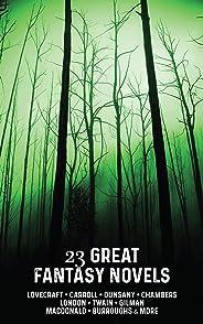 23 Great Fantasy Novels (English Edition)