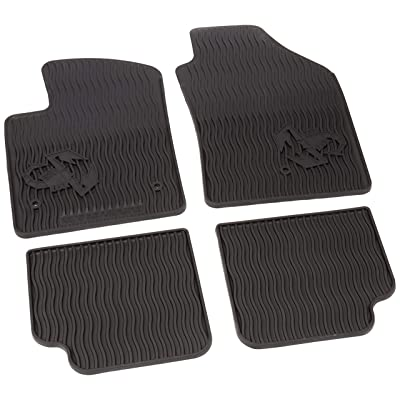 Genuine Fiat Mopar (82213520) All-weather Floor Mat Set: Automotive