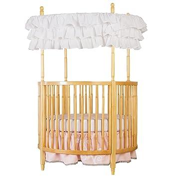 Amazon Com Dream On Me Sophia Posh Circular Crib Natural Baby
