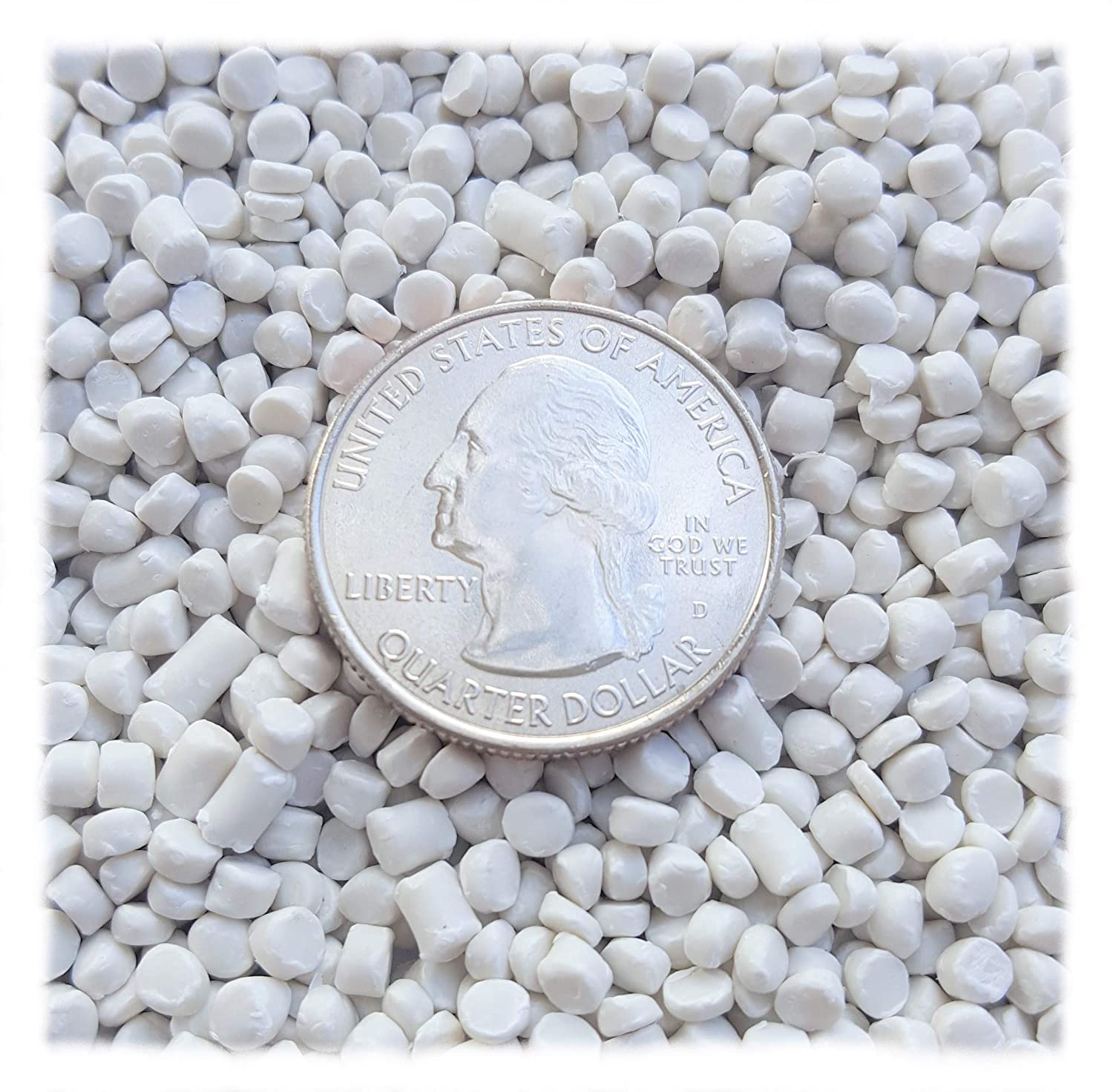 Victory Pellets Extra Heavy (20 Pounds) Plastic Pellets for Weighted Blankets, Corn Hole Bags, Reborn Dolls, Bears, Crafts, Draft Stoppers, Game Changer Bags. Machine Washable & Dryable. Made in USA. Victory Plastic Inc.
