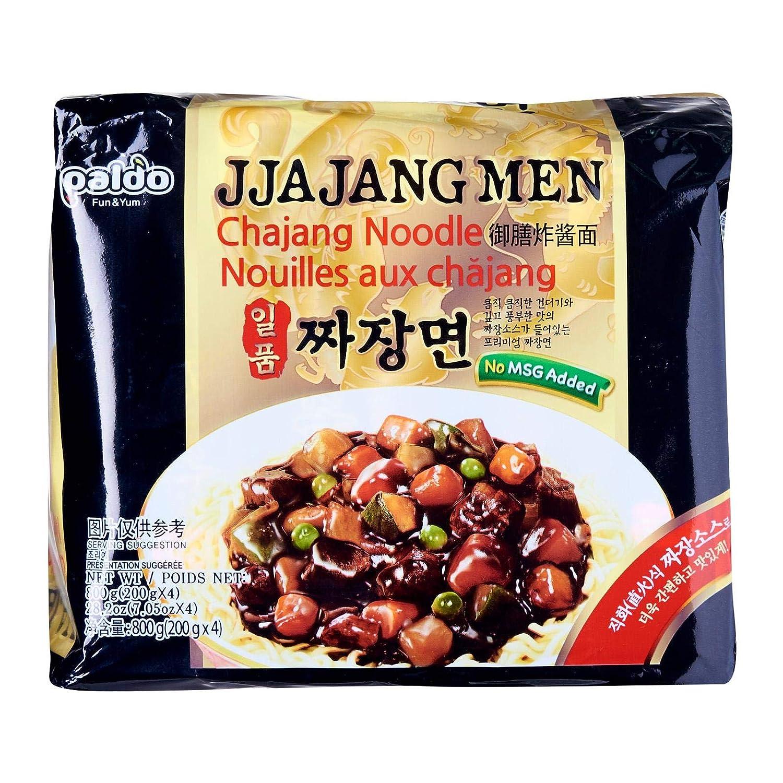 Paldo Jjajangmen Chajang Noodle Vegan No Msg 16 Pack Samyang Hot Spicy Chicken Isi 5 Pcs Grocery Gourmet Food