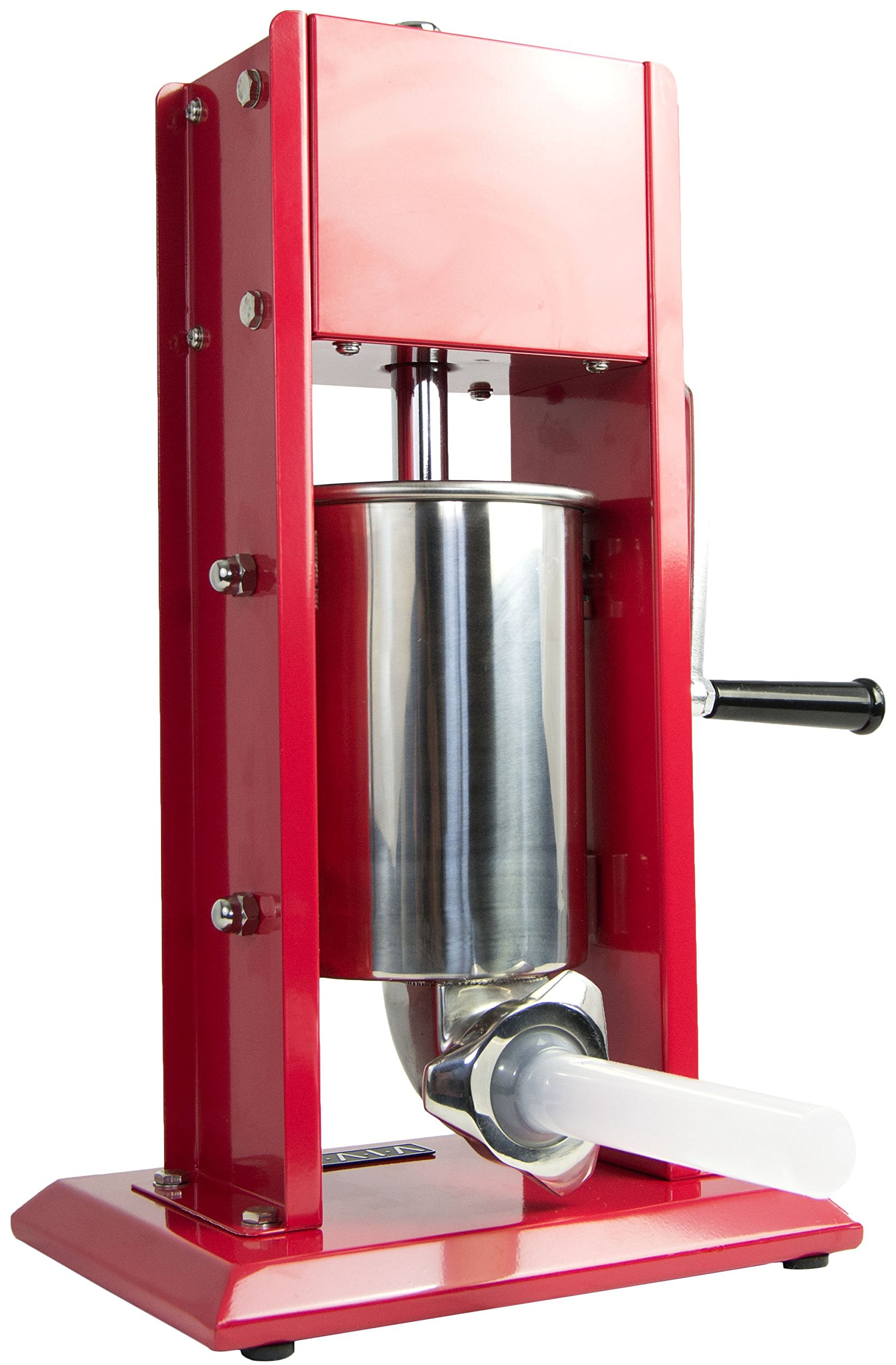 VIVO Sausage Stuffer Vertical Dual Gear Stainless Steel 3L/7LB 5-7 Pounds of Meat (STUFR-V203)