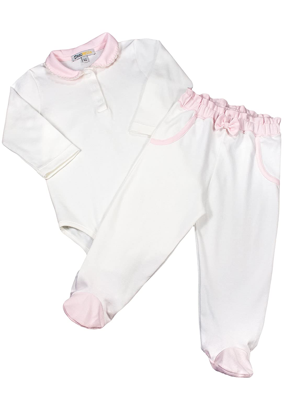 【激安セール】 Dakomoda SLEEPWEAR ベビーガールズ White&pink 9 - SLEEPWEAR 12 Months B01GXPXRFK White&pink B01GXPXRFK, 東京下町雑貨店:d99f6775 --- a0267596.xsph.ru
