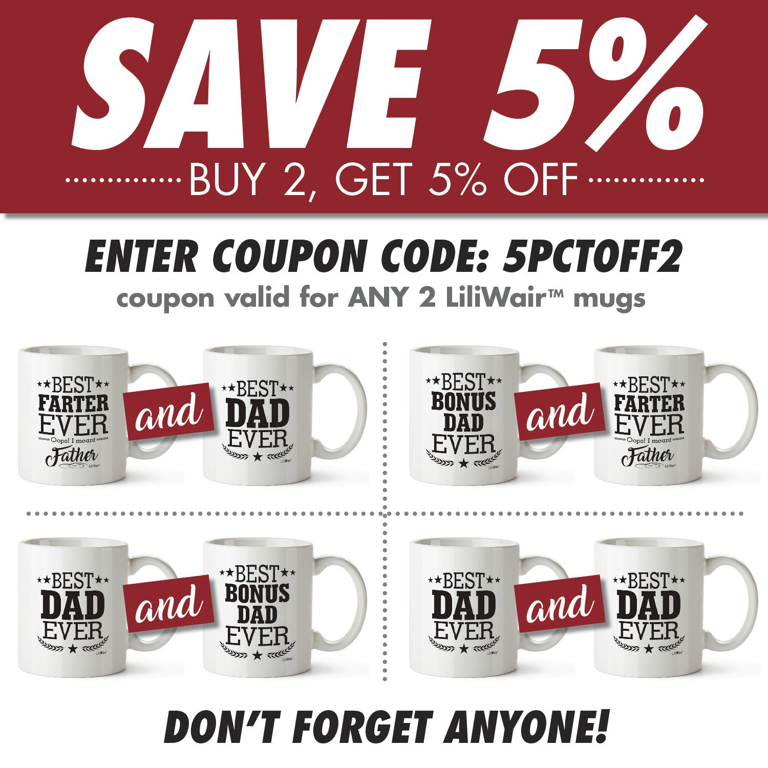 Dad Gifts From Daughter Son, Dad Birthday Gift, Dad Coffee Mug ...