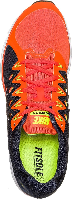Nike Zoom Vomero 9, Zapatillas de Running Hombre, Naranja (Hyper Crimson/Volt-Obsidian), 48 1/2: Amazon.es: Zapatos y complementos