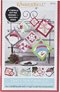 KIMBERBELL Designs Kd716 Tsc Christmas Hot Pads