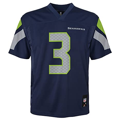 NFL Youth Boys 8-20 Russell Wilson Seattle Seahawks Boys -Player Name  Jersey b94ff66e5