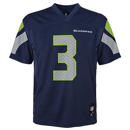 best website f5a7a 1ea0d Outerstuff Boys' Seattle Seahawks Russell Wilson_Mid-Tier Jersey